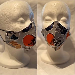Other - 100% Cotton Face Mask w/ Football Teams Helmets